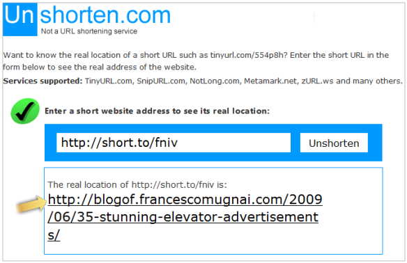 Short URL Scams – Avoid the Traps, Report the Spammers | iLookBothWays